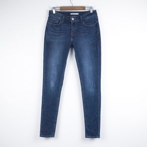 Levi's 535 Super Skinny Mid Rise Jeans